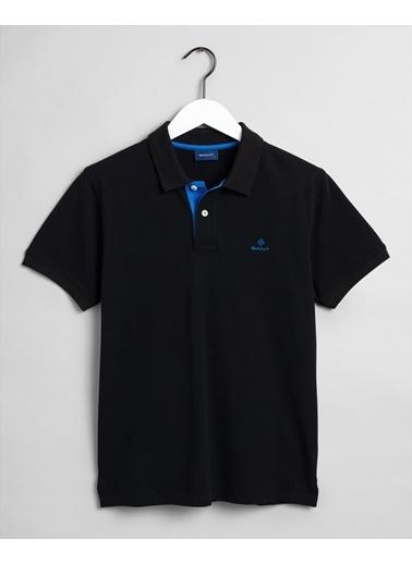 Gant Erkek Regular Fit Polo Siyah